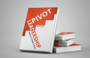 PIVOT LEADERSHIP Cover Display Mockup
